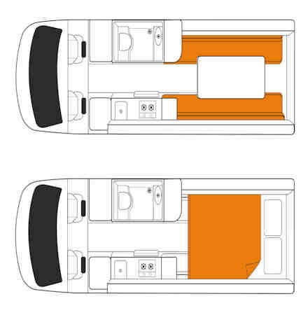 britz 2 berth venturer motorhome hire in australia britz vehicle guide. Black Bedroom Furniture Sets. Home Design Ideas