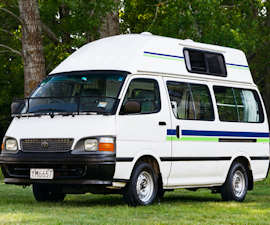 Budget New Zealand Campervan
