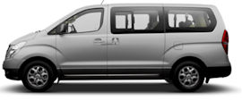 Budget Toyota Previa Passenger Van Rental in New Zealand