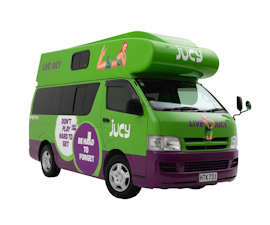jucy chaser 3 berth campervan hire in new zealand jucy vehicle guide. Black Bedroom Furniture Sets. Home Design Ideas