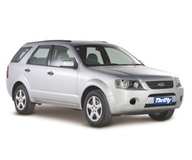 Thrifty Ford Territory Car Rental in New Zealand