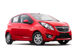 Europcar Holden Spark Car Hire in New Zealand