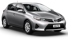 Hertz Toyota Corolla Car Rental in New Zealand