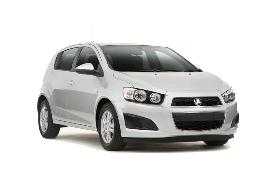 Europcar Holden Barina Car hire in New Zealand